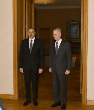 Прошла встреча президента Азербайджана с Королем Бельгии