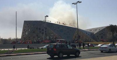 В Кувейте горит здание оперы