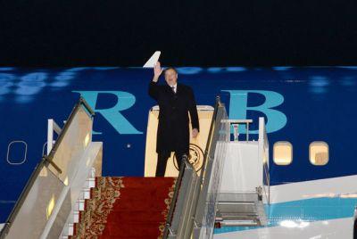 Завершился визит Ильхама Алиева в Бельгию