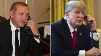 Состоялся телефонный разговор между Трампом и Эрдоганом