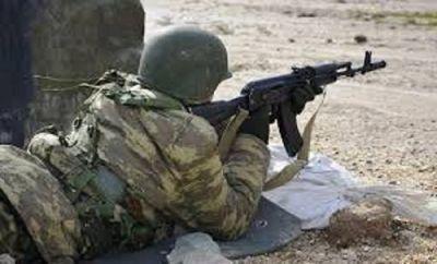 Обстреляны азербайджанские позиции
