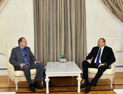 Ильхам Алиев принял Алана Дестекса
