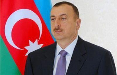 Ильхам Алиев принял участие в открытии служебного центра