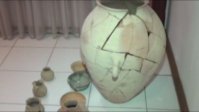 Yevlaxda antik dövrə aid əşyalar aşkarlanıb