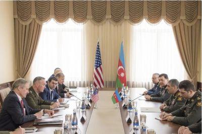 Закир Гасанов провел переговоры с делегацией США