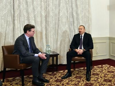 Ильхам Алиев встретился с Йоахимом Дрисом