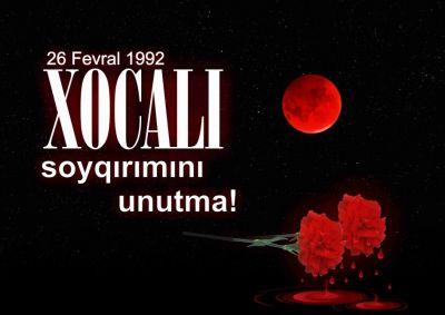 Ankarada Xocalı konfransı keçiriləcək