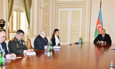 Прошло заседание Совета безопасности под председательством Ильхама Алиева