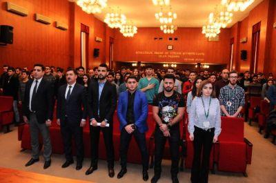 IV İslam Həmrəyliyi oyunlarının idmançı səfirləri ilə görüş keçirilib - FOTO