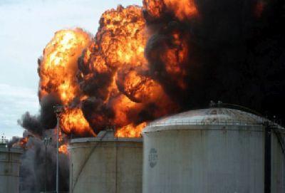 В Чехии на заводе взорвалась цистерна с взрывчаткой