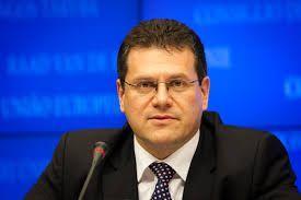 """Марош Шефчович: """"Мы высоко оцениваем продвижение, связанное с проектом """"Южного газового коридора"""""""