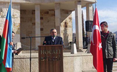 Ankarada Xocalı soyqırımı qurbanlarının xatirəsi anılıb