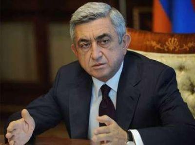 Sarkisyan NATO-nun baş katibi ilə görüşəcək