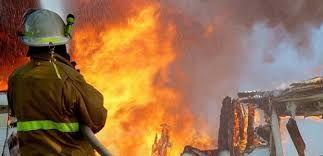 İsveçdə qaçqınların binası yanıb