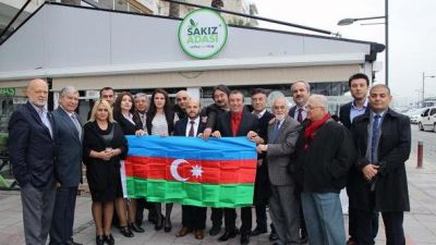 İzmirdə Xocalı soyqırımının 25 illiyi qeyd olunub