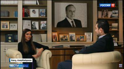 "Mehriban Əliyeva: ""Mən Prezidentin etimadını doğrultmalıyam"""