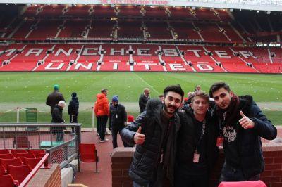 Победители чемпионата по мини-футболу, организованного «Bakcell» побывали в Манчестере