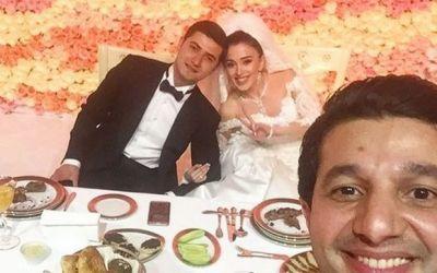 Зарубежные знаменитости на азербайджанской свадьбе - Фотографии