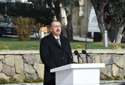 """Azərbaycan Prezidenti: """"Bizim müstəqil siyasətimiz qürur mənbəyimizdir"""""""
