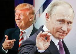 """Tramp: """"Putin möhkəm yerfındığıdır"""" BƏNZƏTMƏ"""