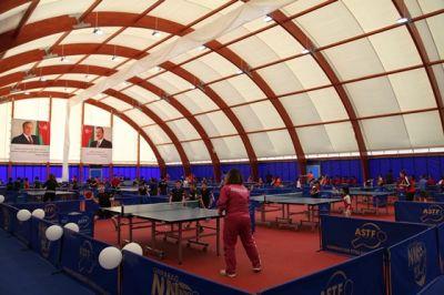 Stolüstü Tennis Federasiyasının İdman Kompleksi fəaliyyətə başlayıb