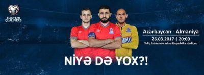 Azərbaycan – Almaniya oyununa cəmi üç min bilet qalıb