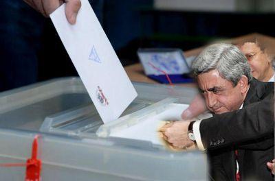 """""""Выборы проводятся для того, чтобы палач Саргсян остался у власти"""""""