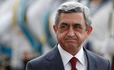 """Саргсян сам террором пришел к власти"""
