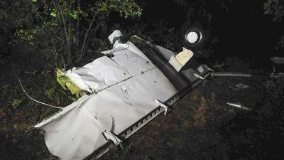 На границе Мозамбика и Зимбабве упал самолет, есть погибшие