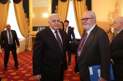 Обсуждены перспективы развития сотрудничества парламента Азербайджана с ПАСЕ и Госдумой России