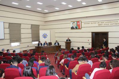 YAP Gənclər Birliyi Soyqırımı Günü ilə əlaqədar tədbir keçirib