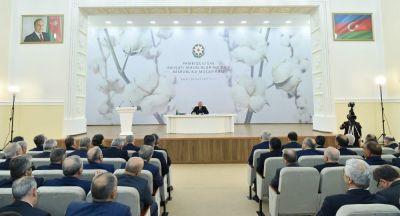 """Azərbaycan prezidenti: """"200 min nəfər işlə təmin olunacaq"""""""