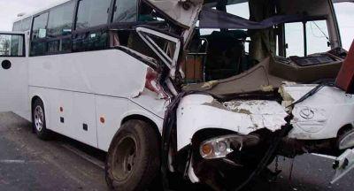 Turist avtobusu qəzaya uğradı: -  16 yaralı