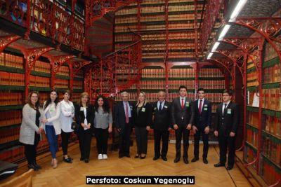 Azərbaycan diasporunun üzvləri Niderland deputatları ilə görüşüb FOTOLAR