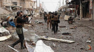Mosulun daha iki rayonunu yaraqlılardan təmizləyib