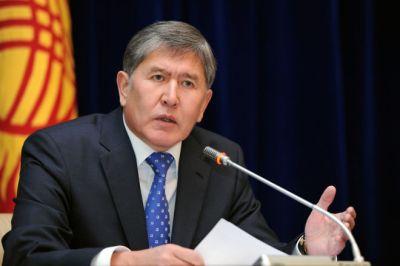 Atambayev sürücüsünü yenidən müşavir etdi