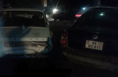 Bakı-Quba yolunda iki avtomobil toqquşub