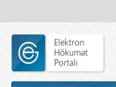 """""""Elektron hökumət"""" portalına 3 yeni xidmət inteqrasiya edilib"""