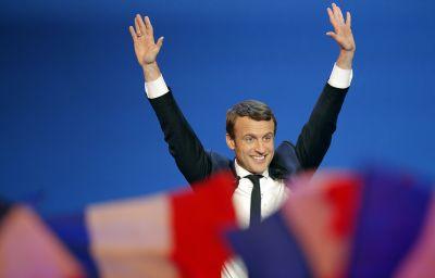 Победитель первого тура выборов президента Франции