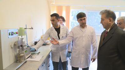В Парке высоких технологий НАНА производится конкурентоспособная продукция - Фотографии