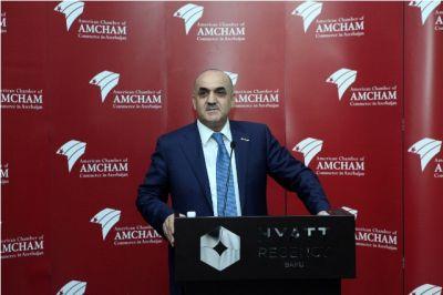 """Nazir: """"""""İşsizlikdən sığorta haqqında"""" qanun Milli Məclisə təqdim olunub"""" - FOTO"""