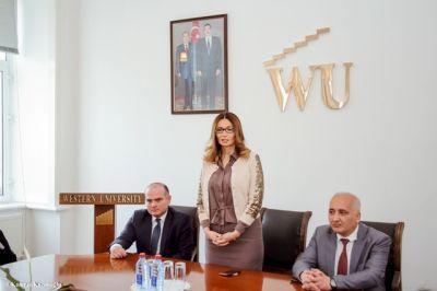 Qərb Universitetində millət vəkili Qənirə Paşayeva ilə görüş keçirildi - FOTOLAR