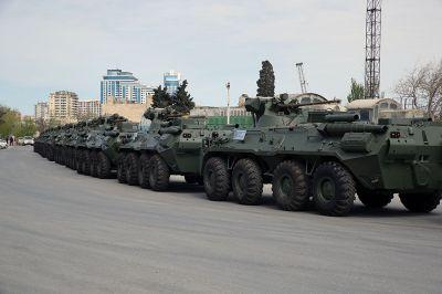 Rusiyadan Azərbaycana müasir silah və hərbi texnika gətirilib