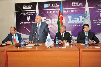 Bakı Mühəndislik Universitetində YAP-ın təsis konfransı keçirilib - FOTOLAR