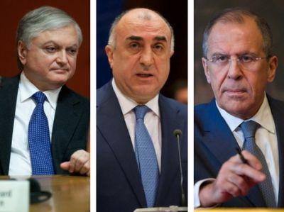 Сегодня пройдет встреча Мамедъяров-Лавров-Налбандян