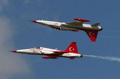 Турецкая авиация уничтожила 89 террористов