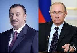 Путин поздравил Ильхама Алиева