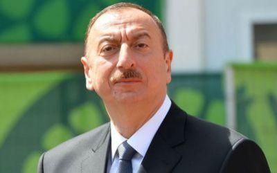 Ильхам Алиев принял участие в акции по посадке деревьев