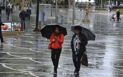 В Баку ожидается ветер и дожди