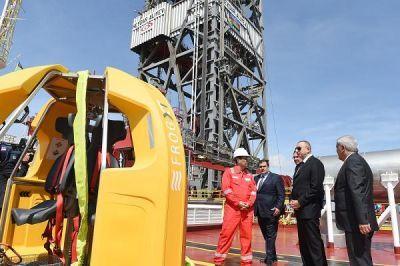 Ильхам Алиев принял участие в открытии полупогружной буровой установки имени Гейдара Алиева